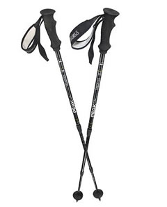 Hiking poles (adjustable) for climbing mount kilimanjaro